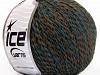 Iris Wool Turquoise Brown
