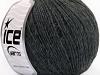 Wool Cord Light Anthracite Black