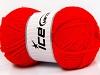 Wool Bulky Glitz Red
