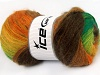 Mohair Active Yellow Orange Green Shades Brown