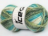 Cotton Spray Turquoise Green Shades