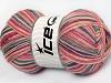 Magic Sock Salmon Pink Shades Grey