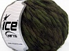 Wool Drops Khaki Brown