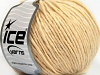 Wool Cord Aran Dark Cream