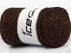 Macrame Cotton Glitz Copper Brown