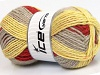 Design Wool Worsted Yellow Copper Beige