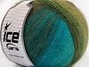 Angora Design Turquoise Green Shades Brown Shades