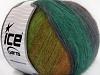 Angora Design Teal Purple Maroon Green Shades Brown