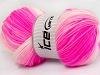 Baby Batik White Neon Pink Light Pink