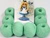Amigurumi Cotton 25 Verde Menta