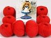 Amigurumi Cotton 25 Tomato Red