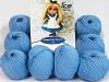 Amigurumi Cotton 25 La luz azul