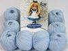 Amigurumi Cotton 25 Bebé Azul