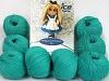 Amigurumi Cotton 25 Verde esmeralda
