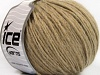 Wool Cord Aran Light Brown