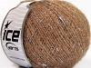 Wool Glitz Superfine Plata castaño claro Oro