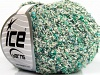 Sale Boucle White Green Shades