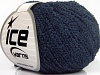 Cotton Boucle Fine Navy