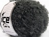 Boucle Mohair Worsted Gris Oscuro