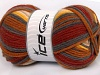 Sale Sock Yarn Yellow Grey Cream Copper