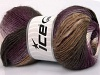 Rainbow White Purple Lilac Brown Shades