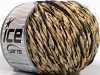 Chenille Wool Flamme Dark Brown Cafe Latte Black