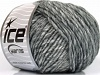 Wool Cord Aran Grey Shades