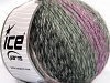 Roseto Worsted Lila Sombras Gris Sombras