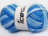 Natural Cotton Color Worsted Tonos azules