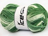 Natural Cotton Color Worsted Sombras verdes