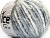 Sale Mohair-Wool Blend White Light Blue Grey