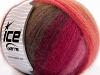 Angora Design Red Pink Shades Brown Shades