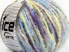 Sale Mohair-Wool Blend Yellow White Turquoise Purple