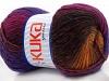 Magic Wool DeLuxe Purple Pink Copper Brown