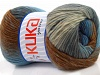Magic Wool DeLuxe Grey Brown Blue