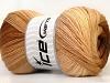 Merino Gold Batik Brown Shades