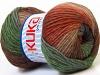 Magic Wool DeLuxe Khaki Green Copper Camel Brown