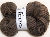 Hand-Dyed Wool Cord Brown Shades
