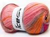 Angora Color Glitz Pink Shades Orange Lilac