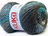 Magic Wool DeLuxe Turquoise Grey Shades