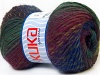 Magic Wool DeLuxe Purple Shades Green Shades