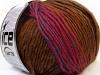Vivid Wool Pink Green Brown Blue