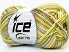 Almina Cotton Color Yellow White Khaki Green