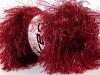 Faux Fur Glitz Red