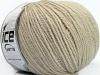 Pure Wool Dark Beige