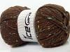 Wool Tweed Superbulky Brown