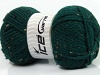 Wool Tweed Superbulky Dark Green