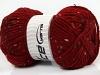 Wool Tweed Superbulky Dark Red