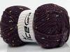 Wool Tweed Superbulky Purple