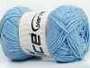 Natural Cotton Baby Blue